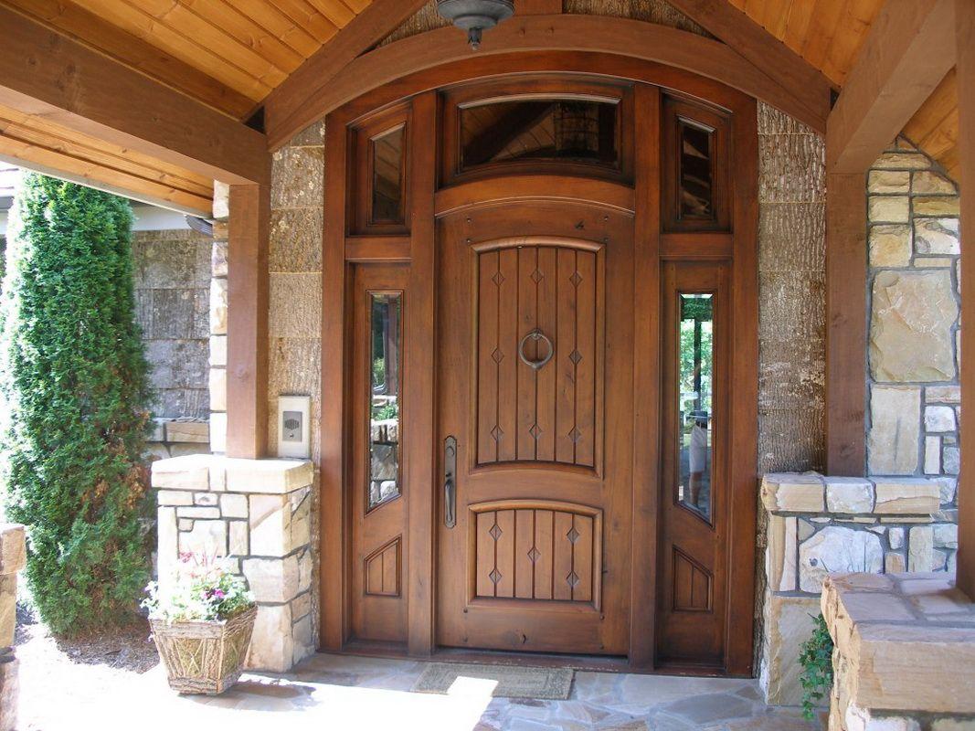 Как выбрать двери для дачи