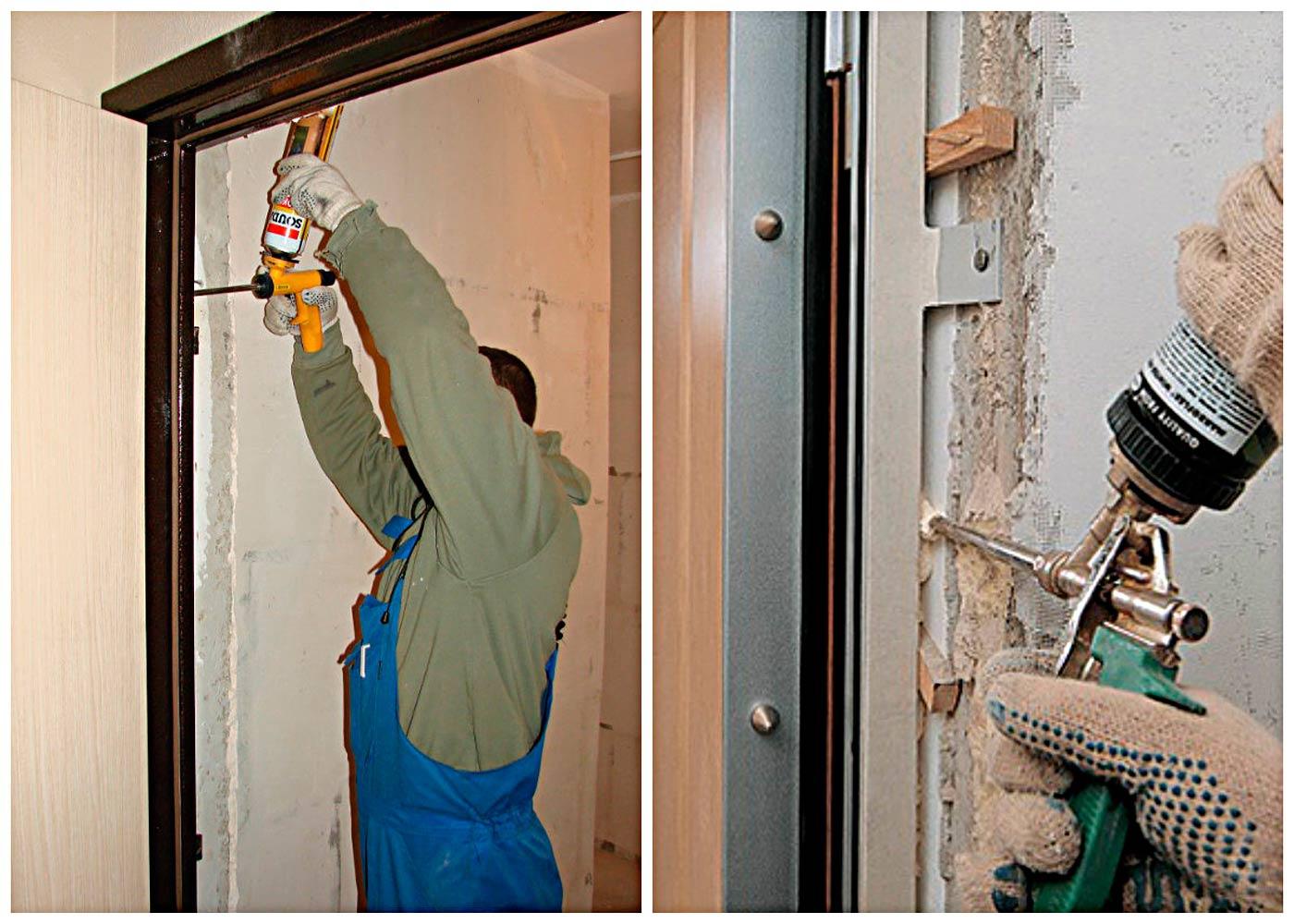 как утеплить дверь в квартире?